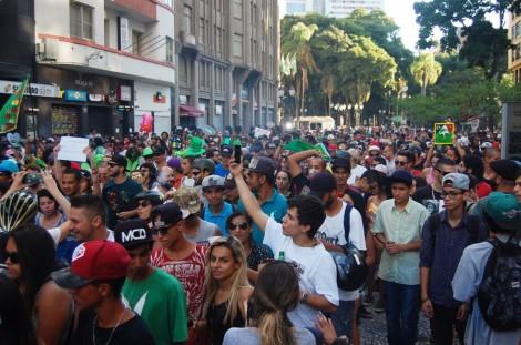 Marcha da Maconah Curitiba 2016 Psicodélico